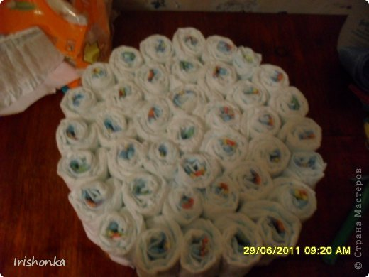 Вот такой тортик я делала в свое время в подарок крестнику на крестины.  фото 8