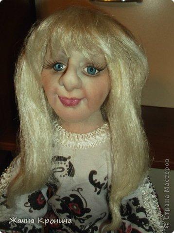 Здравствуйте, мои дорогие! Заказала мне соседка сделать куклу в подарок своей доче, чтобы на неё была похожа. Вот сделала такую девушку- выношу на ваш суд... фото 4