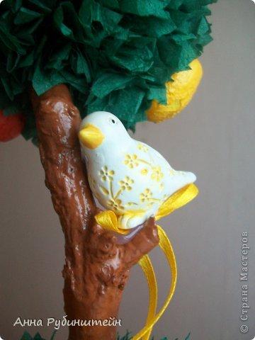 И снова Здравствуйте!))) На этот раз-фруктовое)))) Яблочки, груши.... и птичка!))) фото 3