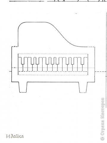 Такую открытку сделала своей знакомой, которая играет на фортепиано. фото 14