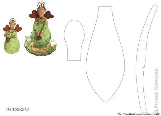 С баночкой варенья Тильда чайная выглядит как-то по-домашнему фото 8