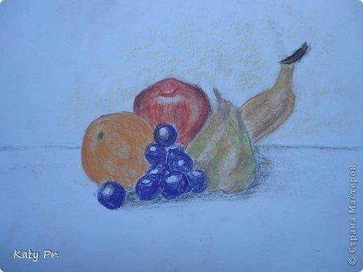 Здравствуйте! Хочу показать одни из первых своих работ пастелью. фото 1