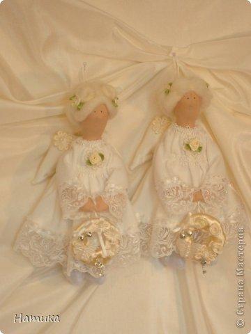 Ангелочки в стиле Тильда. Ева и Илия фото 1