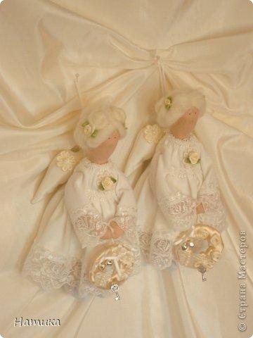 Ангелочки в стиле Тильда. Ева и Илия фото 9