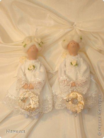 Ангелочки в стиле Тильда. Ева и Илия фото 10
