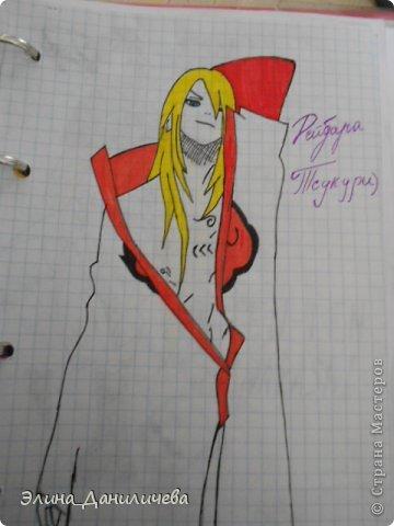 Пару дней назад наткнулась на свои тетради с рисунками... И решила ими поделиться с вами :)) Рисовать, к сожалению, я так и не научилась, но срисовываю хорошо вроде как :) Все эти рисунки - срисовки :) Я вообще любитель аниме, а раньше еще была заядлым ролевиком (ну надеюсь, все понимают, что это :))) И просто обожала рисовать персонажей, за которых я играю)  Вот одна из них - Тен-Тен (Наруто) фото 20