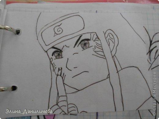 Пару дней назад наткнулась на свои тетради с рисунками... И решила ими поделиться с вами :)) Рисовать, к сожалению, я так и не научилась, но срисовываю хорошо вроде как :) Все эти рисунки - срисовки :) Я вообще любитель аниме, а раньше еще была заядлым ролевиком (ну надеюсь, все понимают, что это :))) И просто обожала рисовать персонажей, за которых я играю)  Вот одна из них - Тен-Тен (Наруто) фото 11