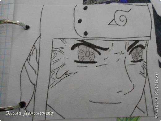 Пару дней назад наткнулась на свои тетради с рисунками... И решила ими поделиться с вами :)) Рисовать, к сожалению, я так и не научилась, но срисовываю хорошо вроде как :) Все эти рисунки - срисовки :) Я вообще любитель аниме, а раньше еще была заядлым ролевиком (ну надеюсь, все понимают, что это :))) И просто обожала рисовать персонажей, за которых я играю)  Вот одна из них - Тен-Тен (Наруто) фото 14