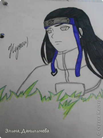 Пару дней назад наткнулась на свои тетради с рисунками... И решила ими поделиться с вами :)) Рисовать, к сожалению, я так и не научилась, но срисовываю хорошо вроде как :) Все эти рисунки - срисовки :) Я вообще любитель аниме, а раньше еще была заядлым ролевиком (ну надеюсь, все понимают, что это :))) И просто обожала рисовать персонажей, за которых я играю)  Вот одна из них - Тен-Тен (Наруто) фото 15