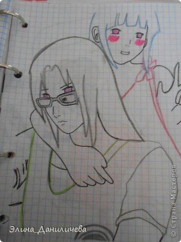 Пару дней назад наткнулась на свои тетради с рисунками... И решила ими поделиться с вами :)) Рисовать, к сожалению, я так и не научилась, но срисовываю хорошо вроде как :) Все эти рисунки - срисовки :) Я вообще любитель аниме, а раньше еще была заядлым ролевиком (ну надеюсь, все понимают, что это :))) И просто обожала рисовать персонажей, за которых я играю)  Вот одна из них - Тен-Тен (Наруто) фото 18