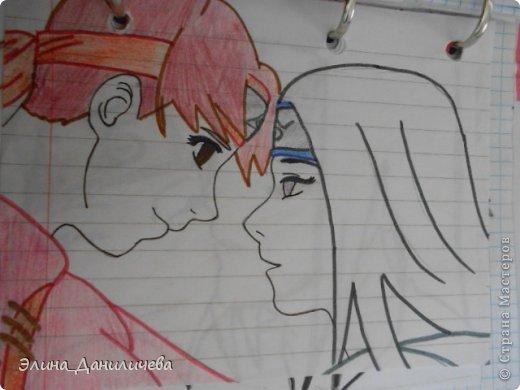 Пару дней назад наткнулась на свои тетради с рисунками... И решила ими поделиться с вами :)) Рисовать, к сожалению, я так и не научилась, но срисовываю хорошо вроде как :) Все эти рисунки - срисовки :) Я вообще любитель аниме, а раньше еще была заядлым ролевиком (ну надеюсь, все понимают, что это :))) И просто обожала рисовать персонажей, за которых я играю)  Вот одна из них - Тен-Тен (Наруто) фото 16