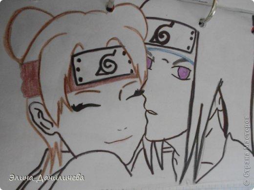 Пару дней назад наткнулась на свои тетради с рисунками... И решила ими поделиться с вами :)) Рисовать, к сожалению, я так и не научилась, но срисовываю хорошо вроде как :) Все эти рисунки - срисовки :) Я вообще любитель аниме, а раньше еще была заядлым ролевиком (ну надеюсь, все понимают, что это :))) И просто обожала рисовать персонажей, за которых я играю)  Вот одна из них - Тен-Тен (Наруто) фото 17