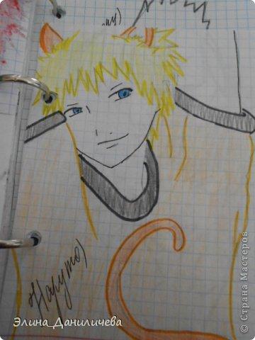 Пару дней назад наткнулась на свои тетради с рисунками... И решила ими поделиться с вами :)) Рисовать, к сожалению, я так и не научилась, но срисовываю хорошо вроде как :) Все эти рисунки - срисовки :) Я вообще любитель аниме, а раньше еще была заядлым ролевиком (ну надеюсь, все понимают, что это :))) И просто обожала рисовать персонажей, за которых я играю)  Вот одна из них - Тен-Тен (Наруто) фото 29