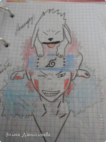 Пару дней назад наткнулась на свои тетради с рисунками... И решила ими поделиться с вами :)) Рисовать, к сожалению, я так и не научилась, но срисовываю хорошо вроде как :) Все эти рисунки - срисовки :) Я вообще любитель аниме, а раньше еще была заядлым ролевиком (ну надеюсь, все понимают, что это :))) И просто обожала рисовать персонажей, за которых я играю)  Вот одна из них - Тен-Тен (Наруто) фото 30