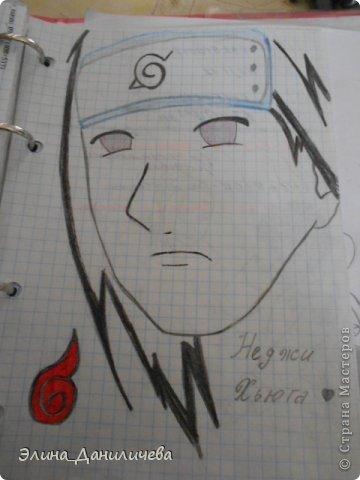 Пару дней назад наткнулась на свои тетради с рисунками... И решила ими поделиться с вами :)) Рисовать, к сожалению, я так и не научилась, но срисовываю хорошо вроде как :) Все эти рисунки - срисовки :) Я вообще любитель аниме, а раньше еще была заядлым ролевиком (ну надеюсь, все понимают, что это :))) И просто обожала рисовать персонажей, за которых я играю)  Вот одна из них - Тен-Тен (Наруто) фото 19