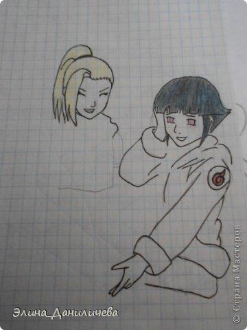 Пару дней назад наткнулась на свои тетради с рисунками... И решила ими поделиться с вами :)) Рисовать, к сожалению, я так и не научилась, но срисовываю хорошо вроде как :) Все эти рисунки - срисовки :) Я вообще любитель аниме, а раньше еще была заядлым ролевиком (ну надеюсь, все понимают, что это :))) И просто обожала рисовать персонажей, за которых я играю)  Вот одна из них - Тен-Тен (Наруто) фото 31