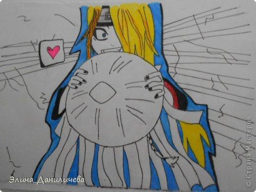 Пару дней назад наткнулась на свои тетради с рисунками... И решила ими поделиться с вами :)) Рисовать, к сожалению, я так и не научилась, но срисовываю хорошо вроде как :) Все эти рисунки - срисовки :) Я вообще любитель аниме, а раньше еще была заядлым ролевиком (ну надеюсь, все понимают, что это :))) И просто обожала рисовать персонажей, за которых я играю)  Вот одна из них - Тен-Тен (Наруто) фото 21