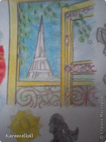 """Доброго времени суток, дорогие друзья:) Увидев, что проходит """"ЛЕТНИЙ КОНКУРС:)"""", я решила в нем поучаствовать=) Долго думала что нарисовать, смотрела уже отправленные работы и решила нарисовать небольшой коллаж:) Сейчас я расскажу о каждой из миниатюр:)  фото 12"""
