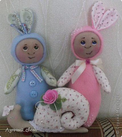 Здравствуйте мои дорогие мастерицы,вот выношу на ваш суд моих куколок,уж очень захотелось их сшить,а зовут их Фотя и Лола фото 1