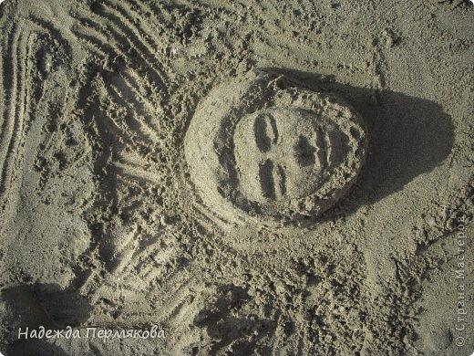 Фигуры из песка фото 4