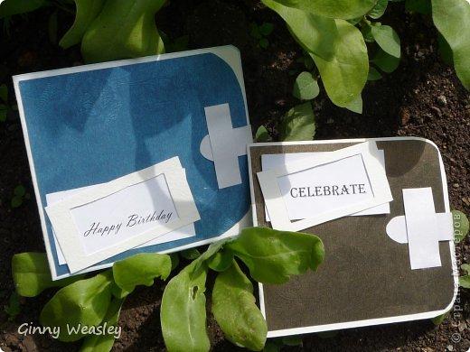 Добрый день! Эти кошелечки я сделала для друзей на день рождения. фото 1