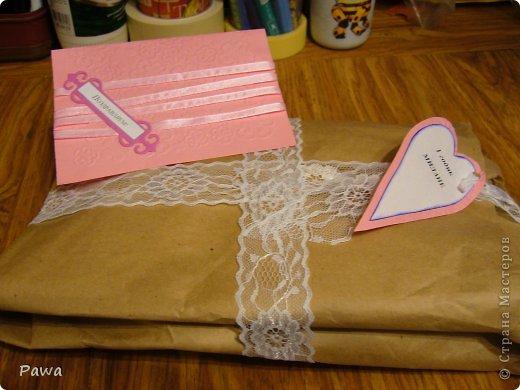 Здравствуйте, мастера и мастерицы. Дорогие мои довочки.(ИРА-Ассорти65; Таисия Шустова, Веронича и все, все все) вы прислали столько замечательных подарков. Благодаря вашим нужностям я сделала Замечательную открытку-конвертик на день рождение маленькой девочке фото 1