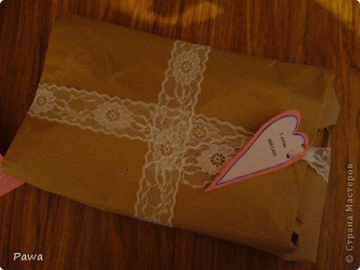 Здравствуйте, мастера и мастерицы. Дорогие мои довочки.(ИРА-Ассорти65; Таисия Шустова, Веронича и все, все все) вы прислали столько замечательных подарков. Благодаря вашим нужностям я сделала Замечательную открытку-конвертик на день рождение маленькой девочке фото 2