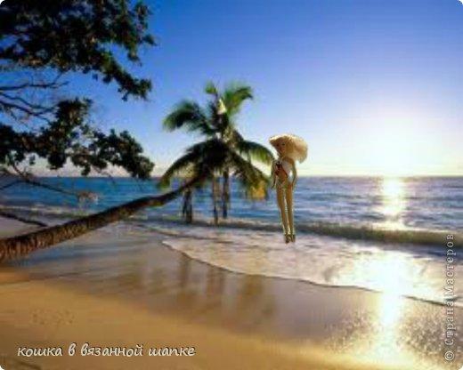 Юся сидела на пляже в своем распрекранейшем гамаке фото 9