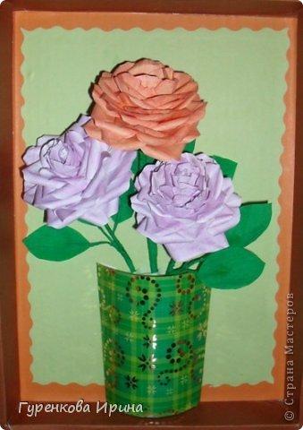 Розы делала в садик для подруги, точнее - дочке её, украшать группу к 8 марта. А яйцо подарила врачу, я с дочкой каждый год лежим в больнице  (в реабелитационом центре).  фото 36