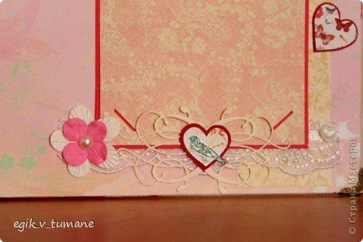 Закончила делать свадебную книгу пожеланий для брата) наконец-то он женится) Вид сбоку фото 6