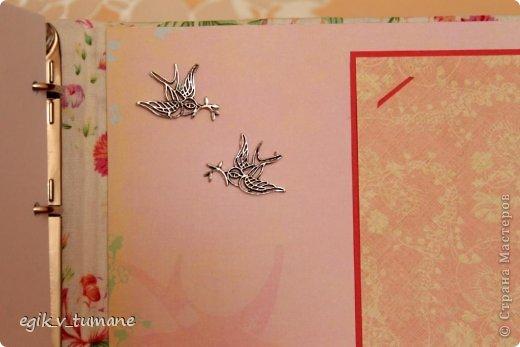 Закончила делать свадебную книгу пожеланий для брата) наконец-то он женится) Вид сбоку фото 7