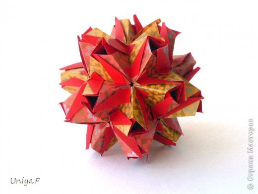 """Здравствуйте!  Следующий МК из серии """"Цветущие ленты"""".  Name: Senorita collection """"Ribbon Flowers""""  Designer: Uniya Filonova  Units: 30  Paper: 3*15 cm (1:5) Final height: ~ 9,5 cm  Joint: no glue фото 26"""