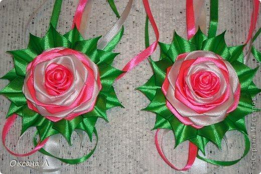 Розы для свадебного авто. фото 2