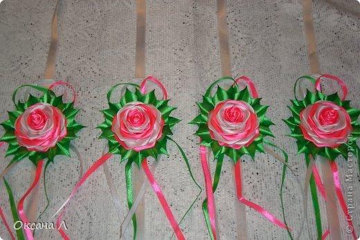 Розы для свадебного авто. фото 1