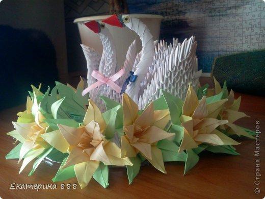 Свадебные лебеди фото 4
