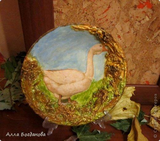 Зимняя тарелочка фото 3