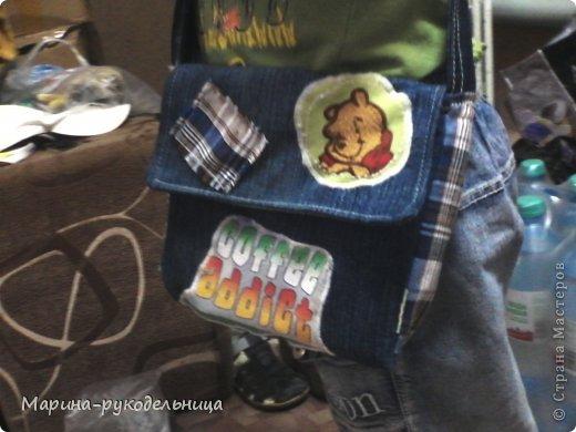 Очень хотела выложить штанишки, которые сшила сыну, но вот фото найти не могу, придется еще раз ему позировать... А так как время уже позднее перенесем на завтра. А так как выложить хочется уже сегодня :), выкладываю сумочки, которые пошила, эта для девочки фото 4