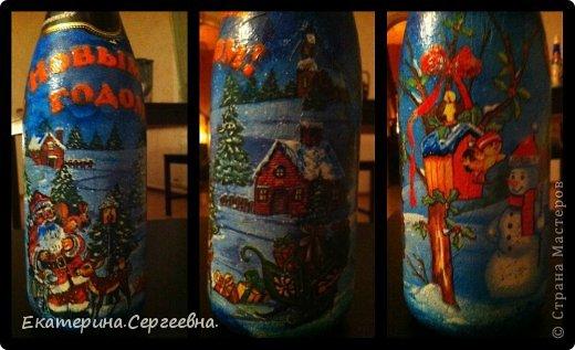 На любой вкус, цвет, повод или без повода делаю такие замечательные бутылочки-сувенирчики.  фото 3