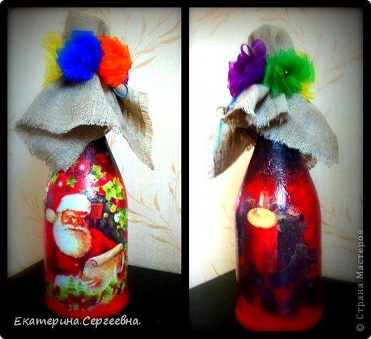 На любой вкус, цвет, повод или без повода делаю такие замечательные бутылочки-сувенирчики.  фото 1