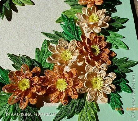 Всем привет! Вот созрел у меня такой цветочек, а точнее букетик. Буду открывать частями (уголочками): Один уголочек... фото 5