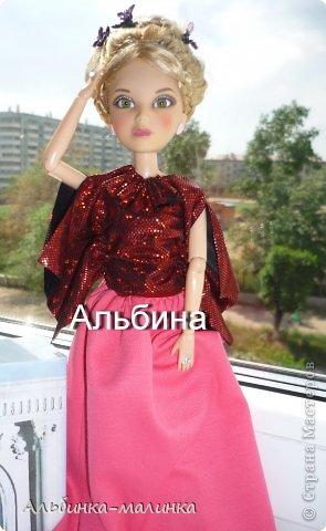 Сшила Альбине красивую блузочку- по очень простой выкройке. фото 2