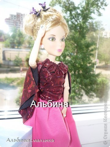 Сшила Альбине красивую блузочку- по очень простой выкройке. фото 6