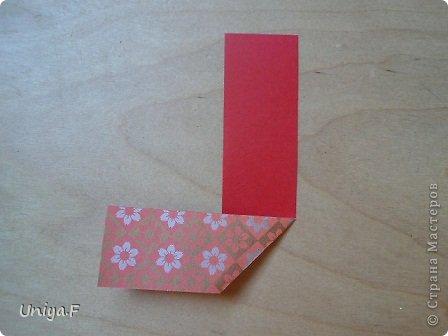 """Здравствуйте!  Следующий МК из серии """"Цветущие ленты"""".  Name: Senorita collection """"Ribbon Flowers""""  Designer: Uniya Filonova  Units: 30  Paper: 3*15 cm (1:5) Final height: ~ 9,5 cm  Joint: no glue фото 3"""