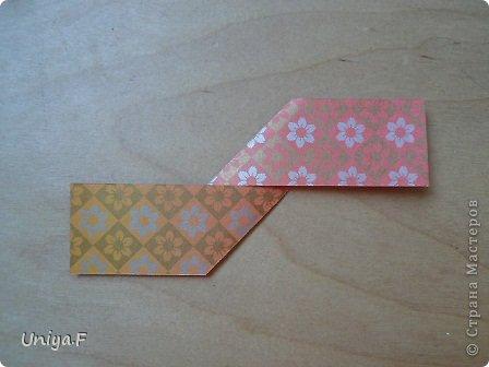"""Здравствуйте!  Следующий МК из серии """"Цветущие ленты"""".  Name: Senorita collection """"Ribbon Flowers""""  Designer: Uniya Filonova  Units: 30  Paper: 3*15 cm (1:5) Final height: ~ 9,5 cm  Joint: no glue фото 4"""