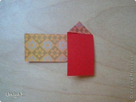 """Здравствуйте!  Следующий МК из серии """"Цветущие ленты"""".  Name: Senorita collection """"Ribbon Flowers""""  Designer: Uniya Filonova  Units: 30  Paper: 3*15 cm (1:5) Final height: ~ 9,5 cm  Joint: no glue фото 5"""