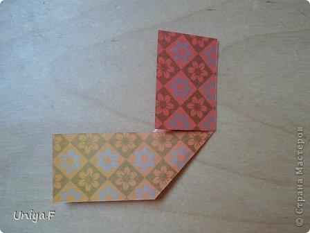 """Здравствуйте!  Следующий МК из серии """"Цветущие ленты"""".  Name: Senorita collection """"Ribbon Flowers""""  Designer: Uniya Filonova  Units: 30  Paper: 3*15 cm (1:5) Final height: ~ 9,5 cm  Joint: no glue фото 6"""