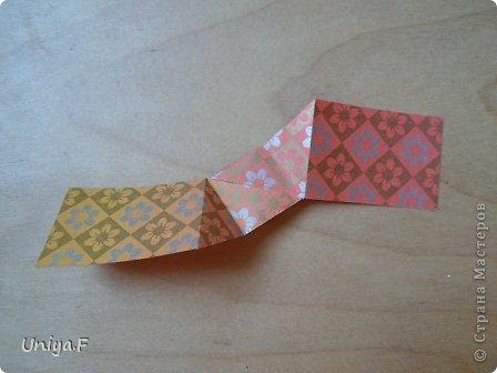 """Здравствуйте!  Следующий МК из серии """"Цветущие ленты"""".  Name: Senorita collection """"Ribbon Flowers""""  Designer: Uniya Filonova  Units: 30  Paper: 3*15 cm (1:5) Final height: ~ 9,5 cm  Joint: no glue фото 7"""