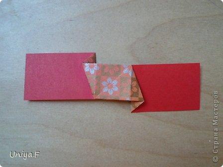 """Здравствуйте!  Следующий МК из серии """"Цветущие ленты"""".  Name: Senorita collection """"Ribbon Flowers""""  Designer: Uniya Filonova  Units: 30  Paper: 3*15 cm (1:5) Final height: ~ 9,5 cm  Joint: no glue фото 9"""