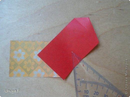 """Здравствуйте!  Следующий МК из серии """"Цветущие ленты"""".  Name: Senorita collection """"Ribbon Flowers""""  Designer: Uniya Filonova  Units: 30  Paper: 3*15 cm (1:5) Final height: ~ 9,5 cm  Joint: no glue фото 14"""