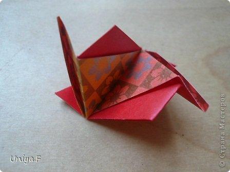"""Здравствуйте!  Следующий МК из серии """"Цветущие ленты"""".  Name: Senorita collection """"Ribbon Flowers""""  Designer: Uniya Filonova  Units: 30  Paper: 3*15 cm (1:5) Final height: ~ 9,5 cm  Joint: no glue фото 22"""